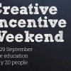 Creative Incentive Weekend  1